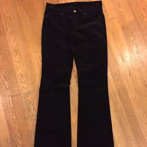 7 For All Mankind Velvet Jeans